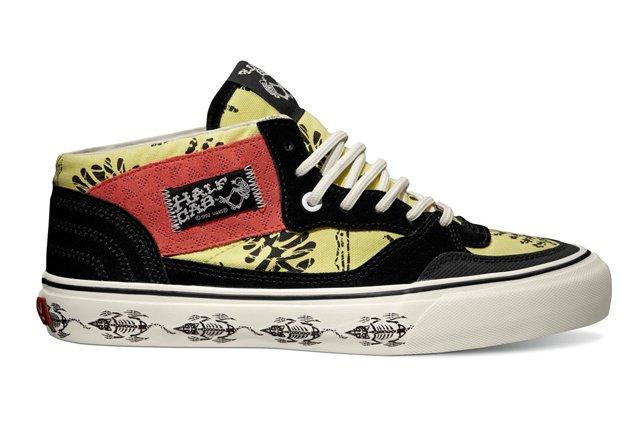 Vault By Vans Th Half Cab Lx Batik Black Fall 2013