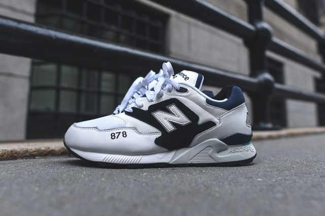 New Balance 878 White Black 4