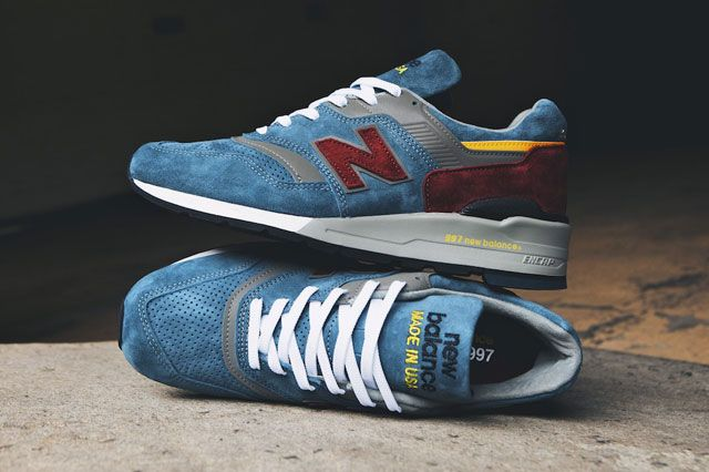 New Balance Teal Brugundy 2