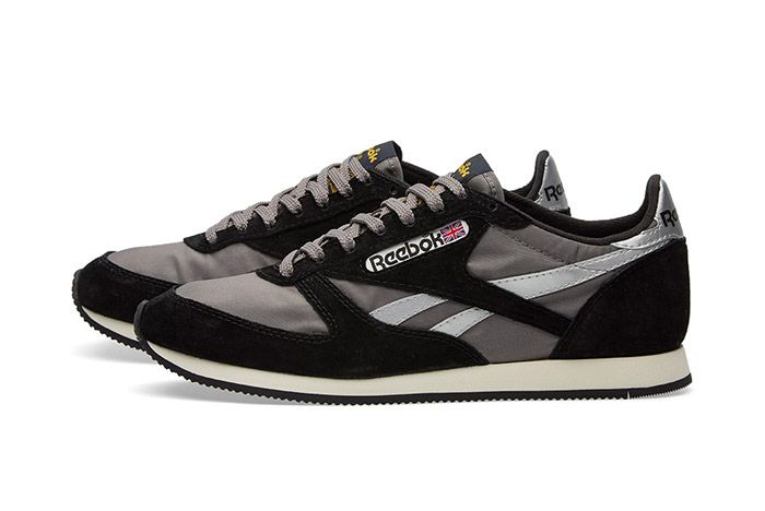 Reebok London Tc Vintage Black Grey 3