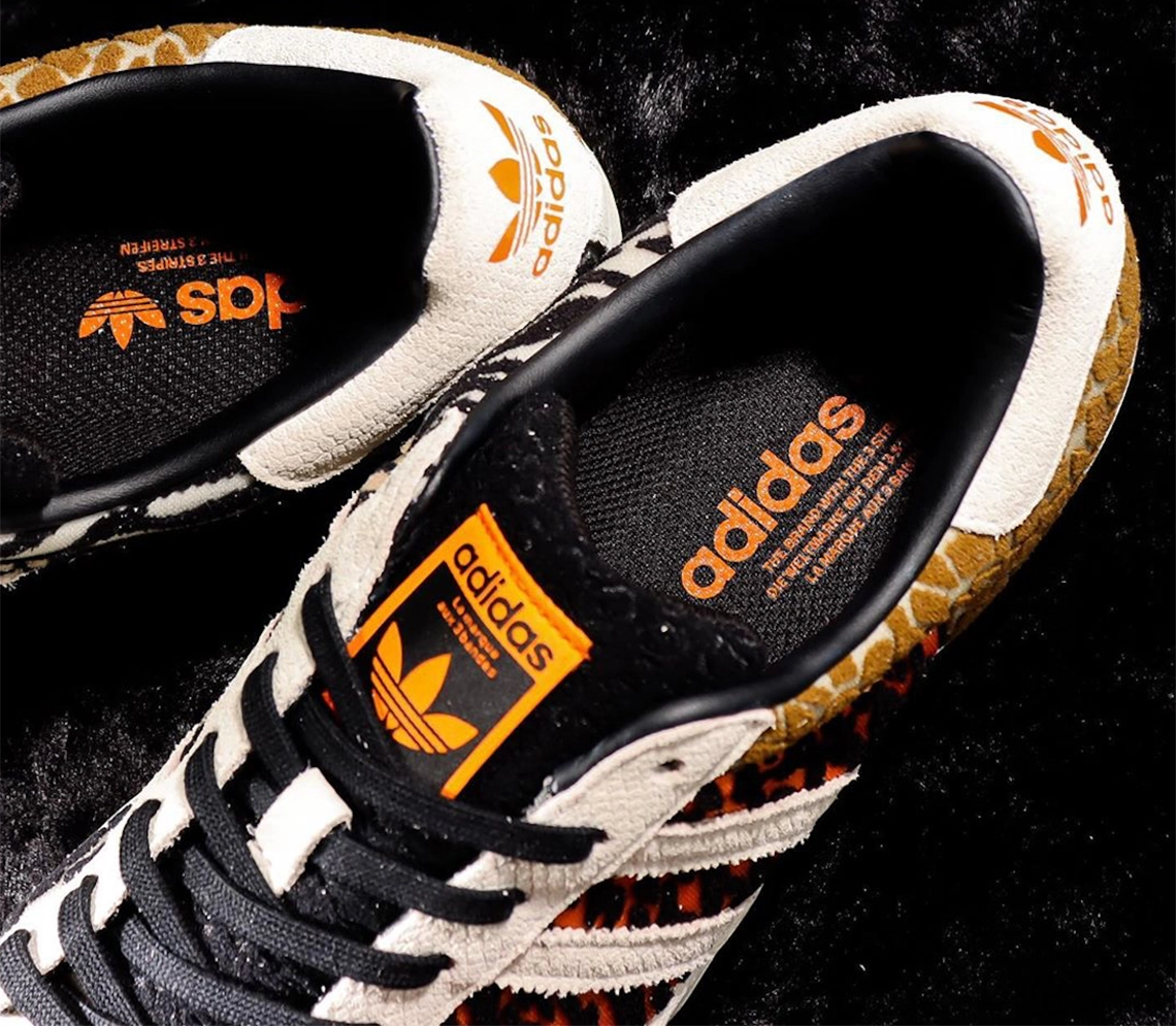 atmos x adidas Superstar Crazy Animal Pack FY5232