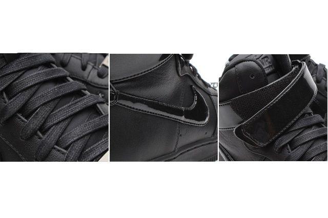 Nike Af1 Hi Downtown Spike Black Detailed2