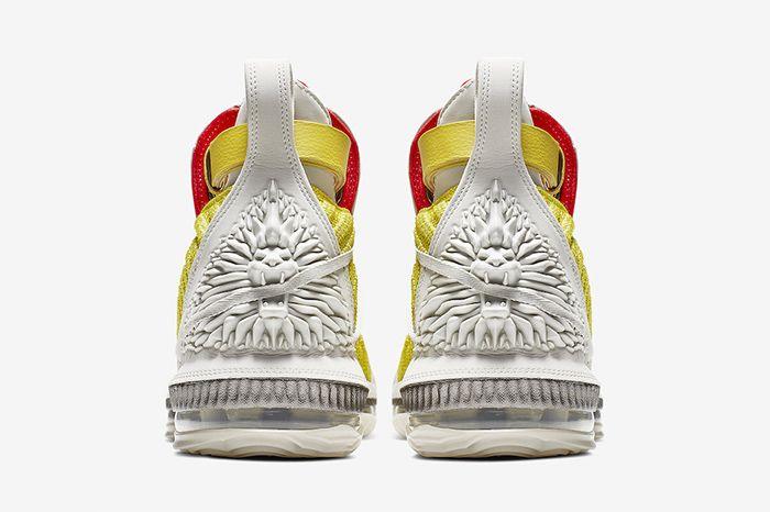 Harlems Fashion Row Nike Lebron 16 Bright Citron Ci1145 700 Release Date Heel