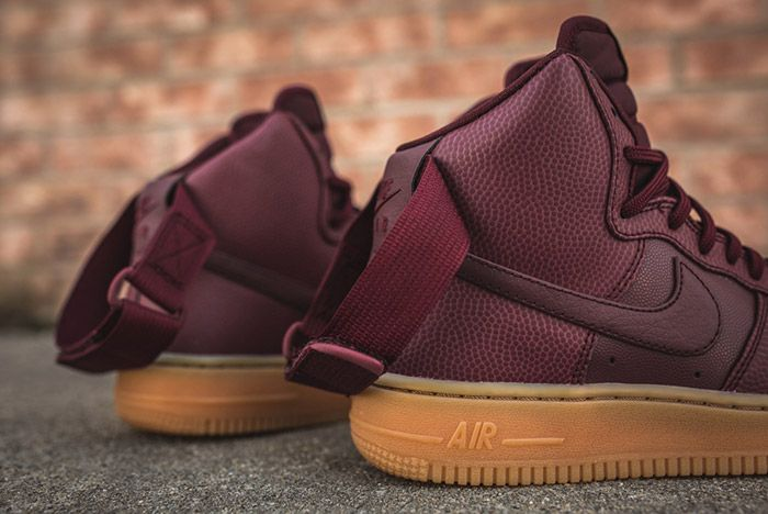 Nike Air Force 1 High Night Maroon Womens 7