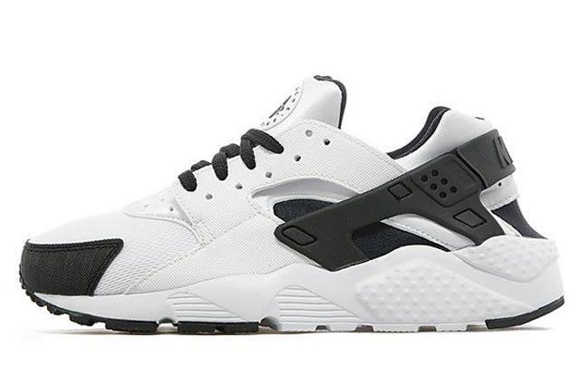 Nike Air Huarache Gs White Black Anthracite 02