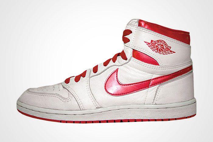 Nike Air Jordan Metallic Red White 2017 Retro Og Thumb