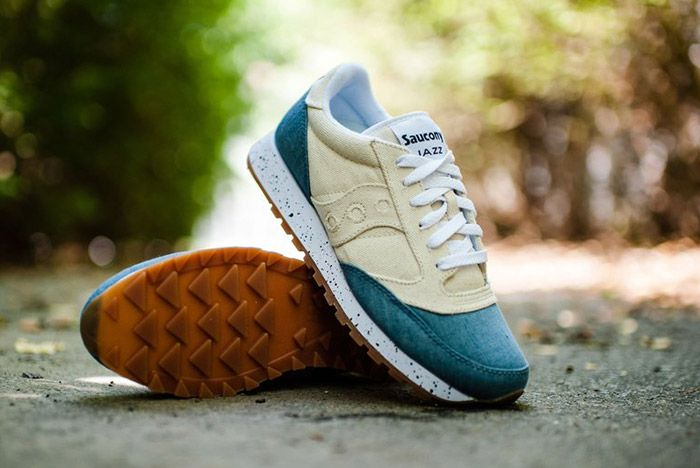 Saucony Jazz Original Denim White 1