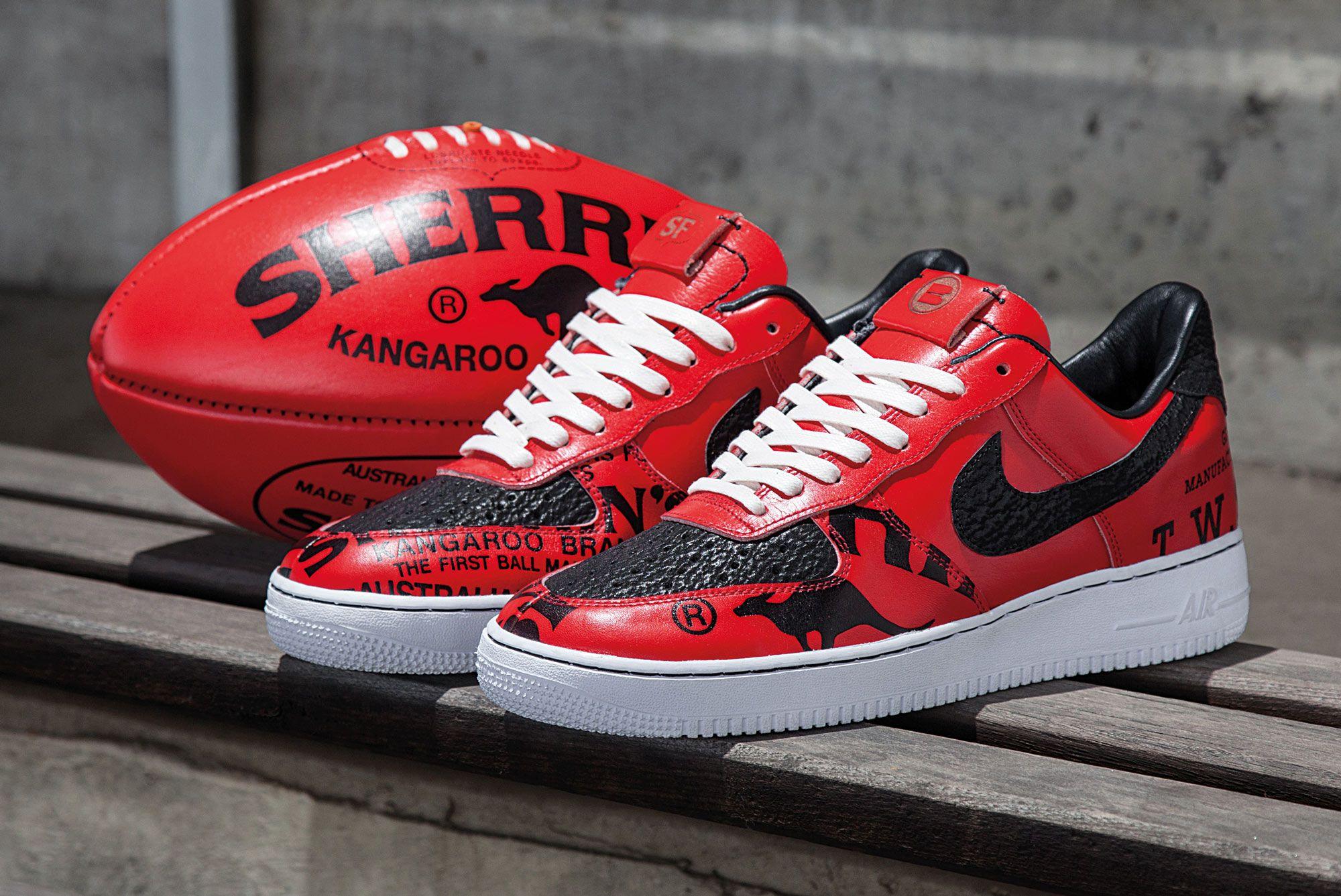 Sneaker Freaker x BespokeIND x Nike AF-1 'Melbourne Rules'