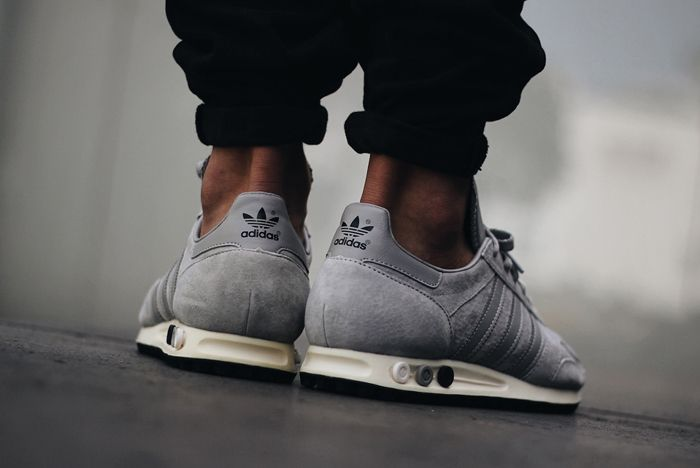 Adidas La Trainer Og Solid Grey1