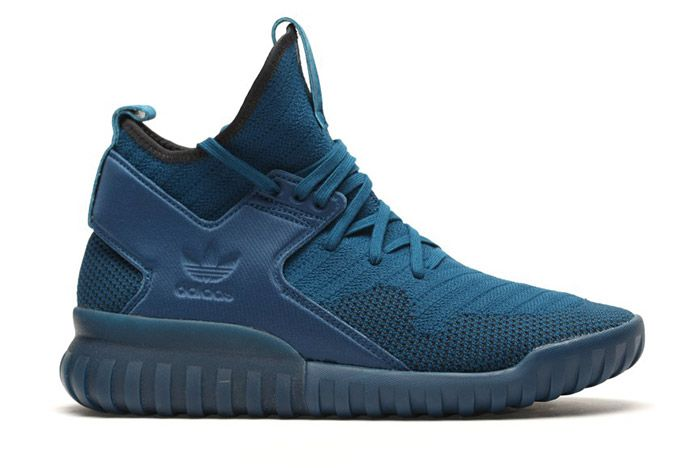 Adidas Tubular X Primeknit Tech Steel Blue 4