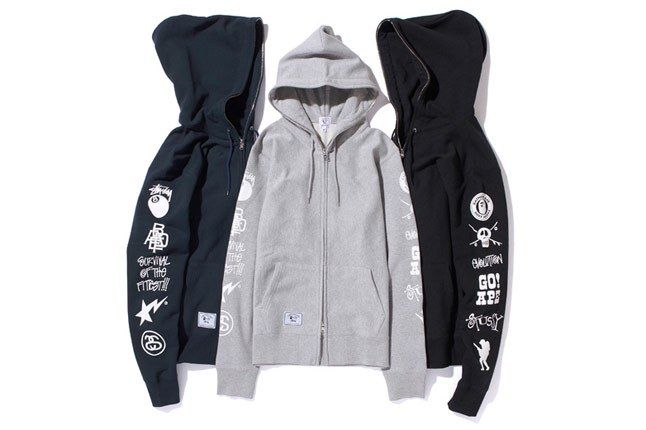 A Bathing Ape X Stussy 2010 Holiday Collection 5A 1