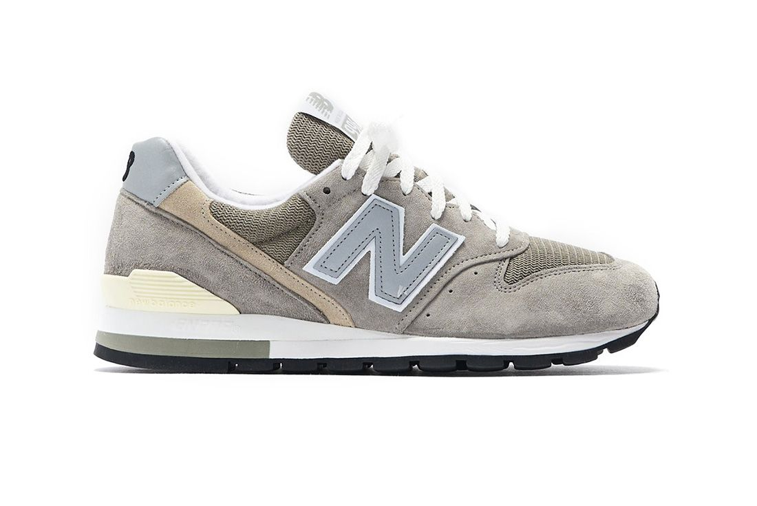 New Balance 996 Grey Lateral