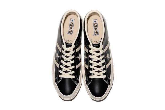 Converse Japan Stars Bars Vintage Leather Top