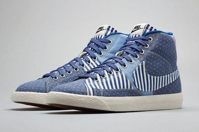 Nike Blazer Mid Vintage Patchwork Bump 4