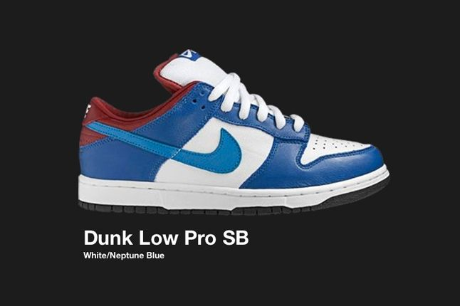 Nike Dunk Low Sb White Neptune Blue 2006 1