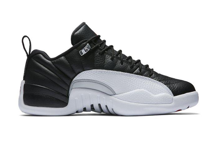 Air Jordan 12 Low Playoffs2