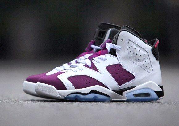 Air Jordan 6 Bright Grape Main