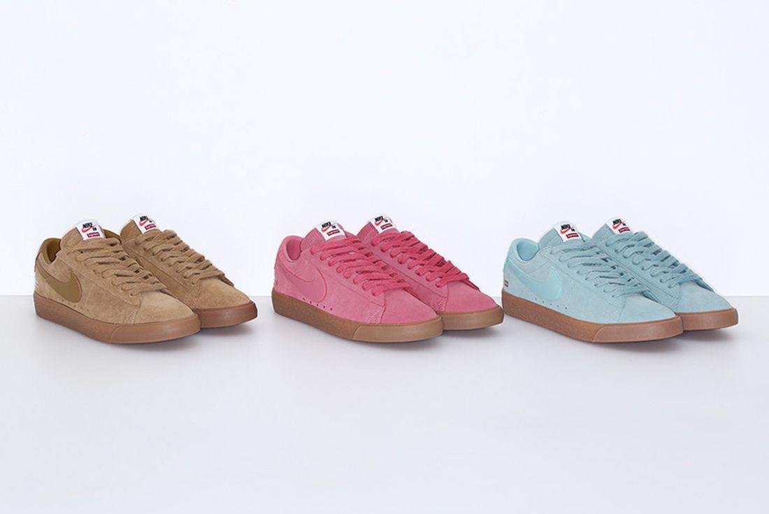 Supreme X Nike Sb Blazer Pack 1