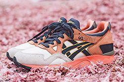 Ubiq X Asics Gel Lyte V Midnight Bloom Thumb