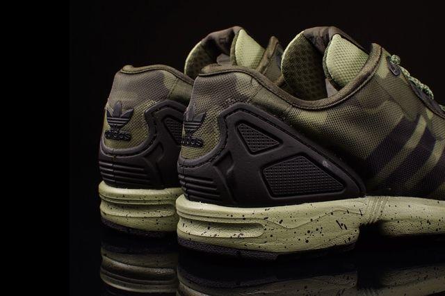 Adidas Zx Flux Decon Camo Pack 5