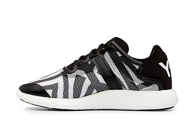 Y 3 Yohji Boost Black And White 1