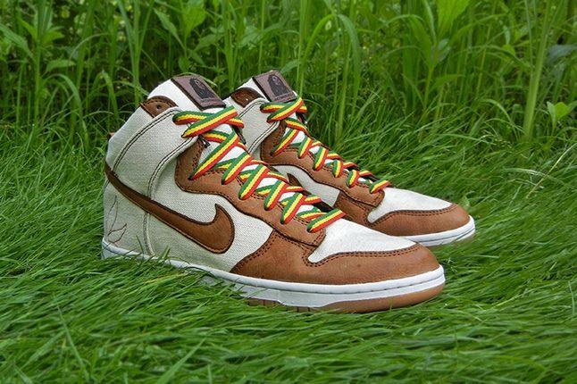 Jbf Customs Nike Dunk Sb Bob Marley Hero