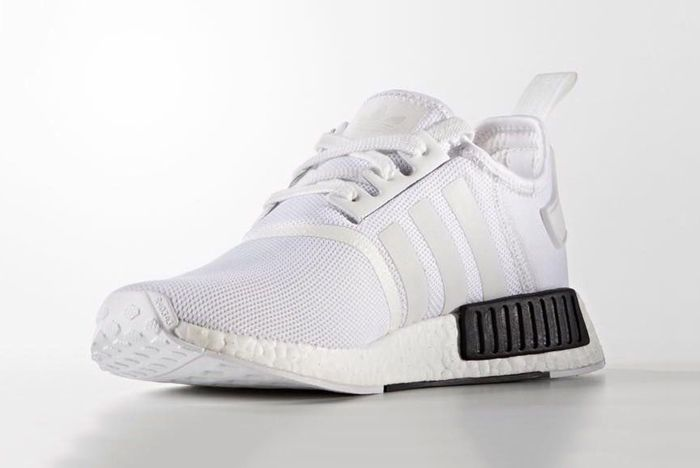 Adidas Nmd R1 White Black2