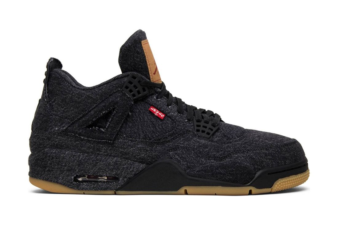 Levis Black Air Jordan 4 Best Greatest Ever All Time Feature
