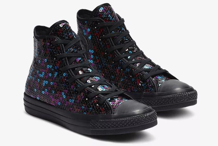 Converse Chuck Taylor All Star Sequin Black 3
