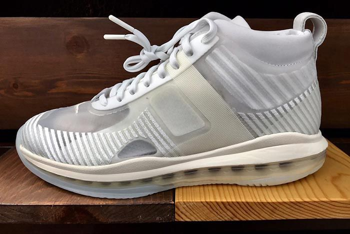John Elliot Lebron Icon Summit White Full Left Side Shot