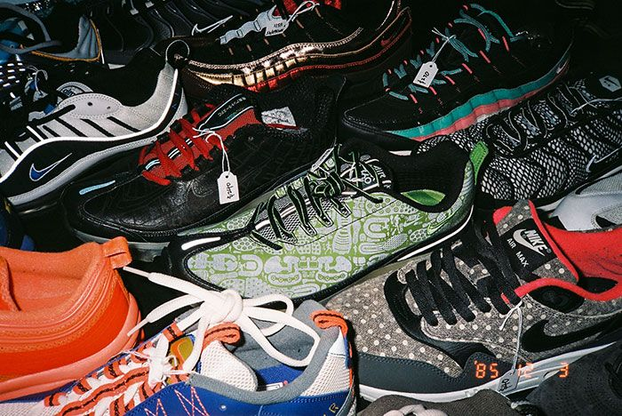 91 Vintage Melbourne Sportswear Market Air Max Table