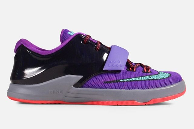 Nike Kd 7 Ps Purple Bleached Turquoise 1