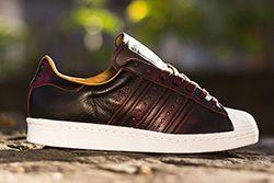 "Adidas Superstar 80S "" Burgundy""Thumb"