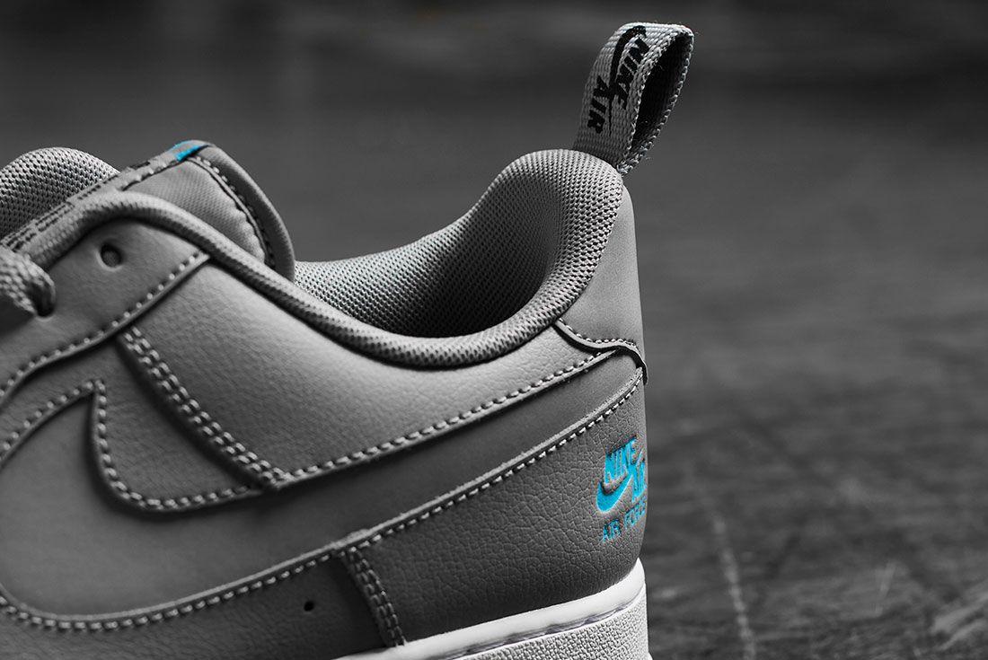 Nike Air Force 1 Jd Sports Heel Detail