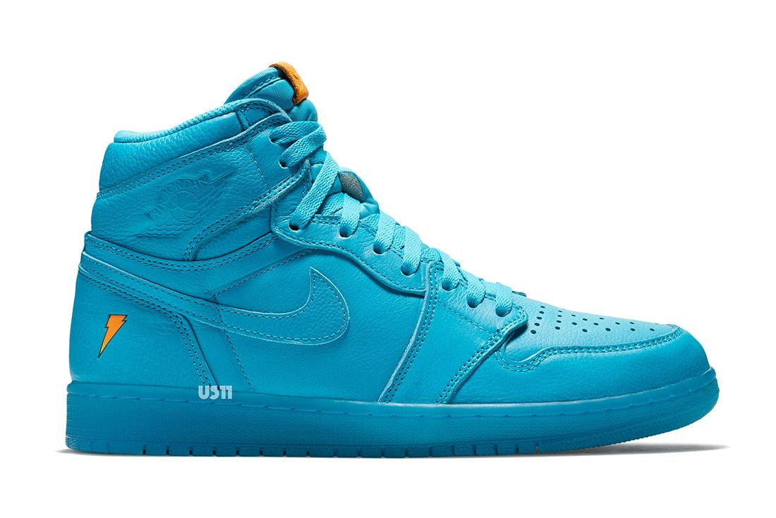 Gatorade X Air Jordan 1 Blue Lagoon2