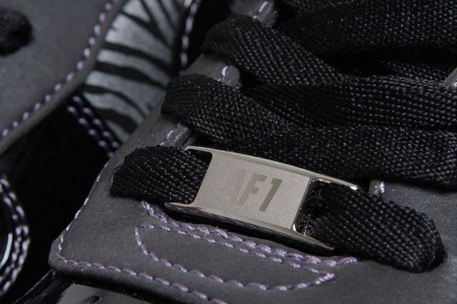 Nike Air Force 1 Downtown Qs Zebra Lace Charm 1