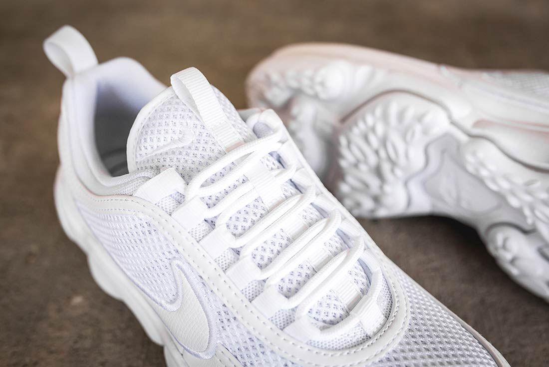 Nike Air Zoom Spiridon Ultra Triple White 6