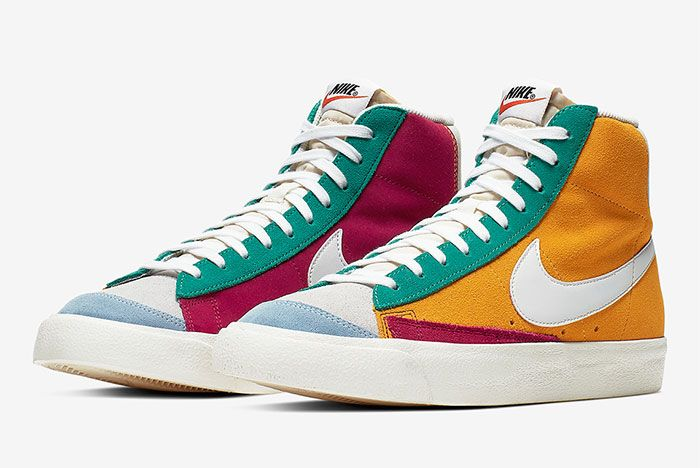 Nike Blazer Vintage Ci1167 600 Three Quarter Angled Side Shot