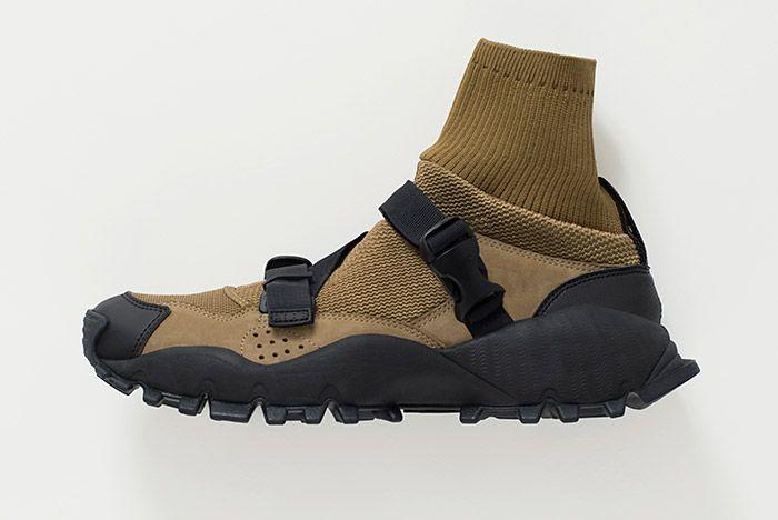 Hyke Adidas Seeulater Khaki Black 2