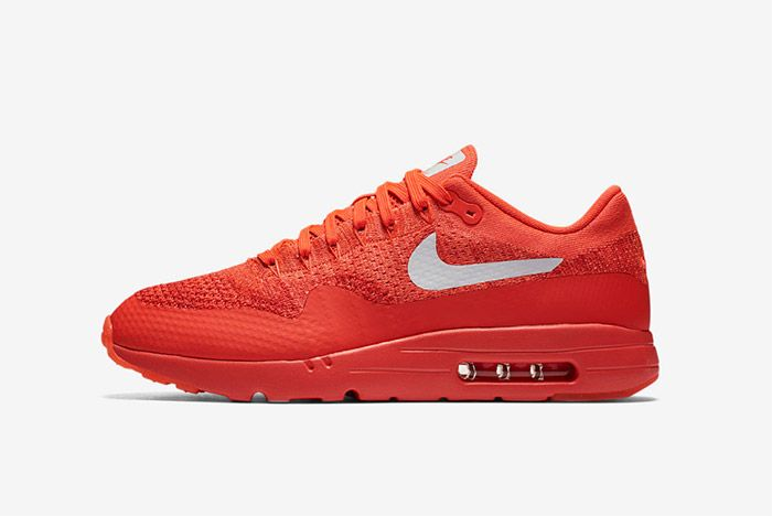Nike Air Max 1 Ultra Flyknit Red 4