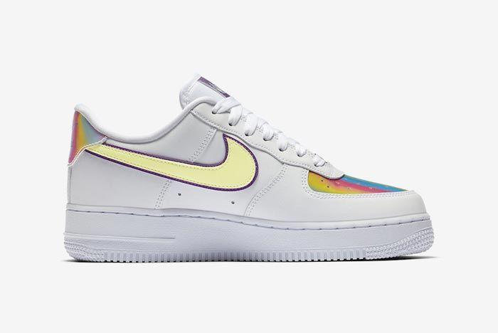 Nike Air Force 1 Easter Medial