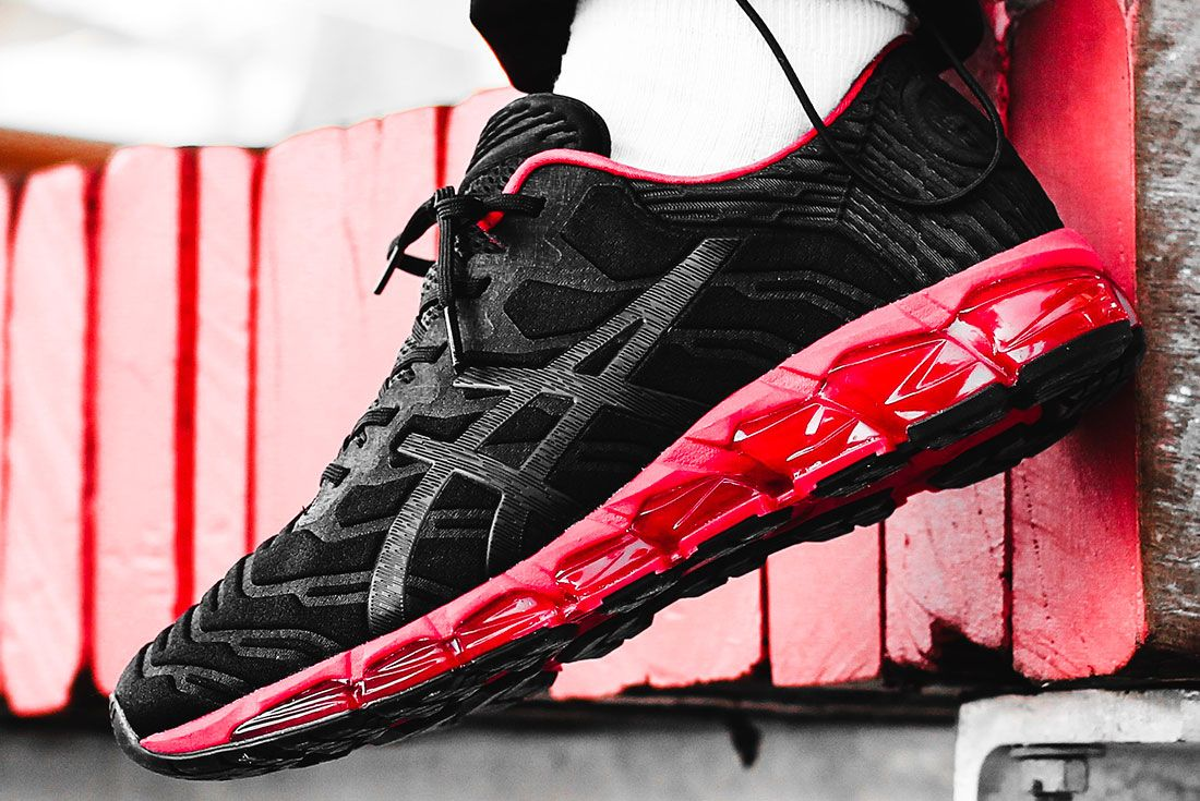 Asics Gel Quantum 360 5 Bred Left Close Shot
