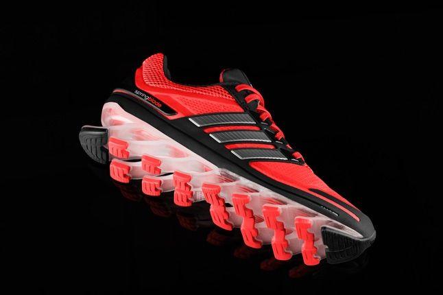 Adidas Springblade Red Black Under Quarter 1