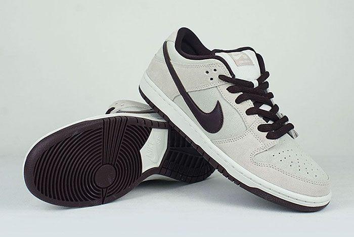 Nike Sb Dunk Low Desert Sand Mahogany Stacked