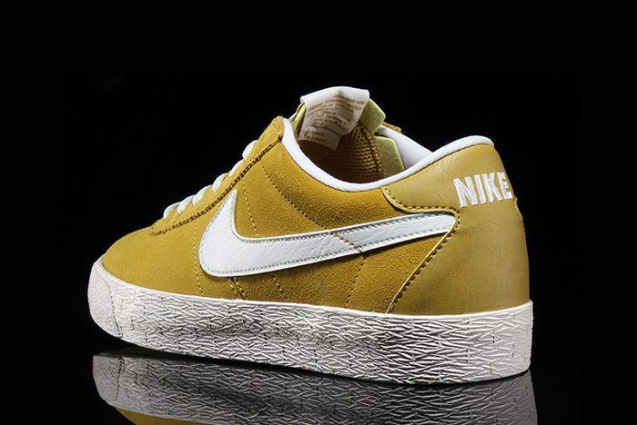 Nike Sb Bruin Premium Peat Moss Yellow 3