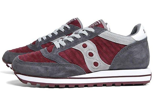 White Mountaineering Saucony Burgundy 1