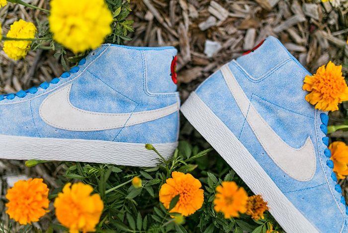 Lance Mountain X Nike Sb Blazer Mid University Blue White Release Date 3 Sneaker Freaker