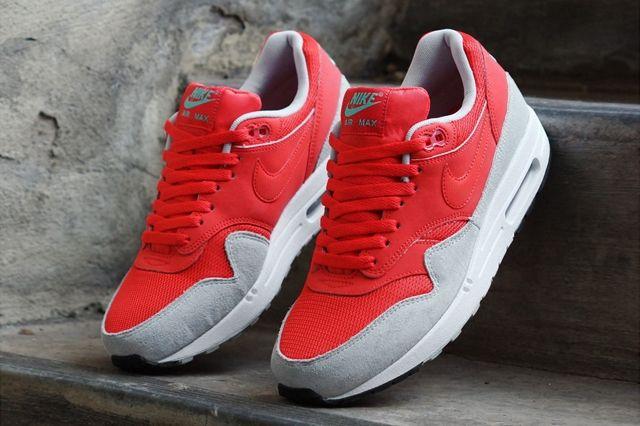 Nike Wmns Air Max 1 Daring Red Grey Mist 3