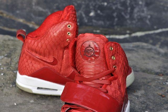 Jbf Customs Nike Air Yeezy 1 Red October 9