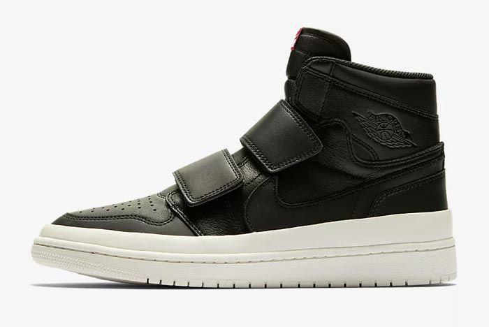 Air Jordan Double Strap Black 2